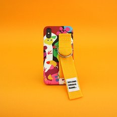 SUN CASE GRAPHIC FRUIT WHITE YELLOW(CARD)