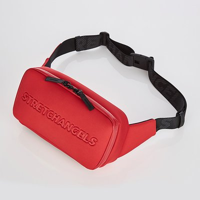 스트레치엔젤스[N.E.O] Round SQ belt bag (Red)