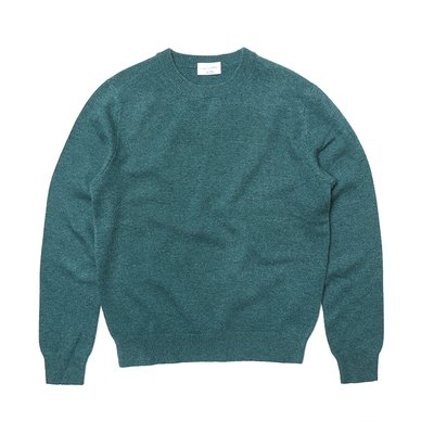 [20%할인가][WOMEN]Cashmere Crewneck_Green