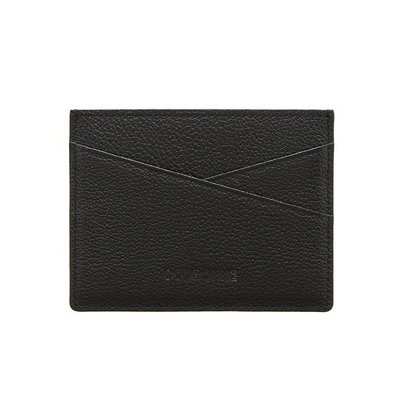 [COURONNE] Thino(티노) Homme Flat Card Wallet_RHACX19116BKX