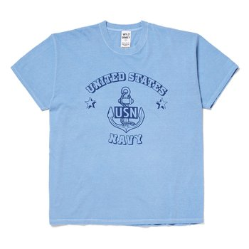 와일드동키 T-NAVY T-SHIRT BLUE