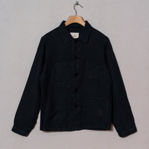 [LA PAZ/라파즈] 20PS BAPTISTA WORKER JACKET DK NAVY MEN