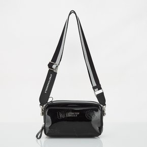 ★SUMR02911★S.A PANINI mix pattern press bag_BLACK