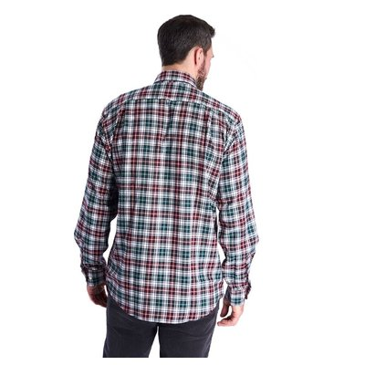 바버 써모-테크 런드 셔츠 레드 (Barbour Thermo-tech Lund Shirt) BAI2MSH4568RE51