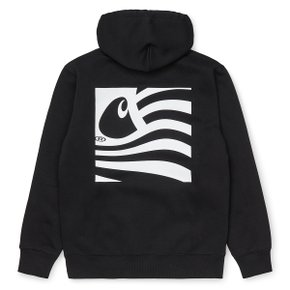 HOODED WAVING STATE FLAG SWEATSHIRT