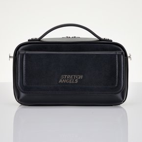 ★SUMR22041★낮2시까지주문 당일출고★Flap Multi Panini bag_BLACK
