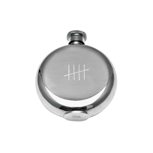 TICK MARKS FLASK 5oz