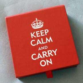 데스크메모-Keep Calm and Carry On