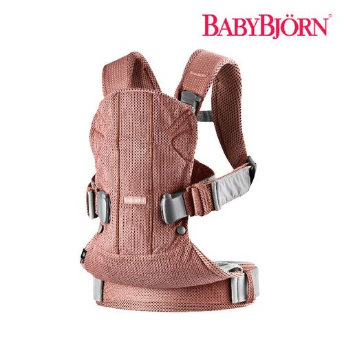 [SSG 단독 런칭 2018]Baby Power Collection 베이비캐리어 원 에어(2018 Ver) 빈티지로즈 (Baby Carrier One Air Vintage Rose/ Mesh)