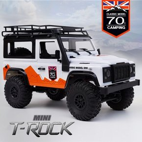 tm-99 미니 티락 2.4G 1:12 mini trock 4WD Rc Car rock Vehicle Truck 블루/화이트