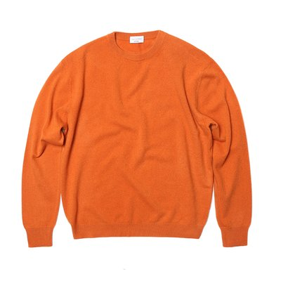 [20%할인가][WOMEN]Cashmere Crewneck_Orange