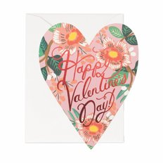 HEART BLOSSOM VALENTINE CARD