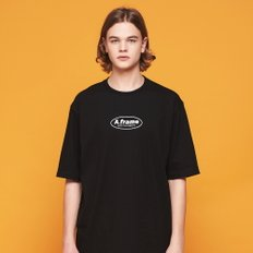ANOTHER FRAME - CIRCLE FRAME T-SHIRT (BLACK) 반팔티