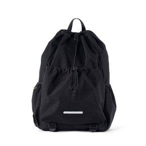 [로우로우/직원추천]  STRING BACKPACK 750 W.NYLON BLACK