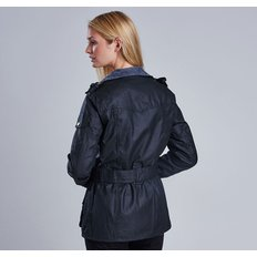 Barbour International 바버 레이디 인터내셔널 왁스자켓 (Ladies International Waxed Jacket) LWX0003BK