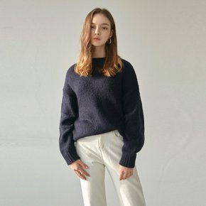 PREMIUM ALPACA SWEATER_NAVY (4025670)