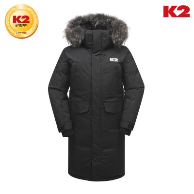 [K2] 남성 GHOST LONG(RDS) BLACK KMW18583Z1