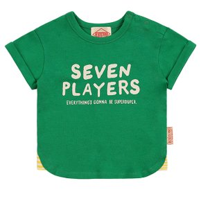 Seven players baby roll up short sleeve tee / BP8222164