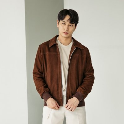 GOAT SUEDE LEATHER JACKET [BROWN] (2070626)