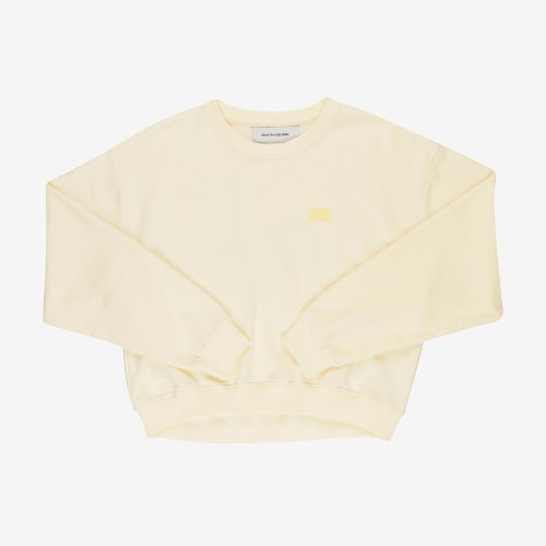 [PRE-ORDER] 20PS ANDREW CROPPED SWEAT WHITE