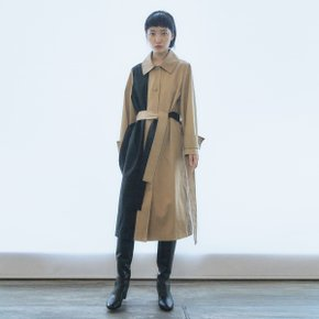 Neutral Matched Trench Coat(TDFLC07)