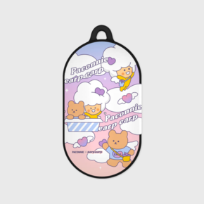 [EARPEARPxCGV]paconnie and covy cloud-purple/pink(Buds hard case)