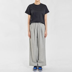 / wool blended easy trousers(2 colors)