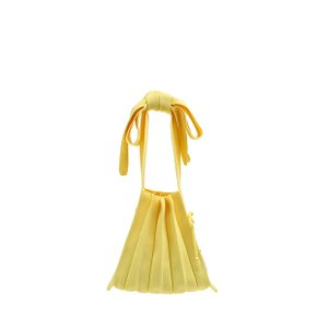 Lucky Pleats Knit S Half & Half Lemon (0JSL1TT40201F)