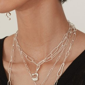 Multiple way Necklace (Silver, Gold)