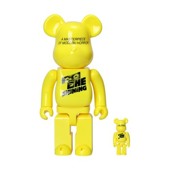 400%+100% BEARBRICK THE SHINNING POSTER VER