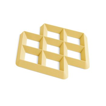 RHOM TRIVET LIGHT YELLOW