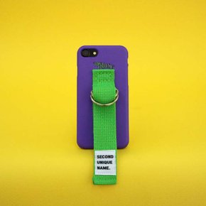 SUN CASE VIOLET YELLOW GREEN (WORD)