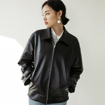 LAMB SKIN A-2 JACKET [BLACK] (2070644)