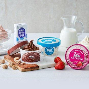 더리얼 아이스크림 딸기 90ml