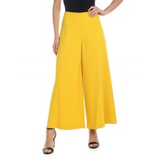 [비베타] Crop trousers in yellow (19I V2M0 B051 5113 3328)