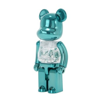 200% BEARBRICK MY FIRST BEARBRICK BABY TURQUOISE VER.