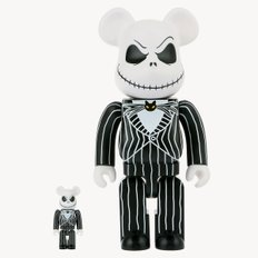 400%+100% BEARBRICK JACK SKELLINGTON