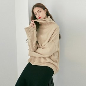 FRENCH TURTLE SWEATER_LIGHT BEIGE (4106991)
