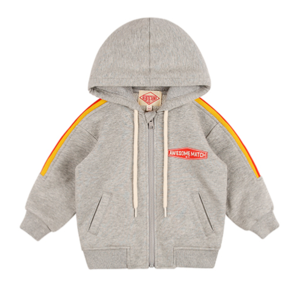 Awesome match baby rainbow zip up jacketBP8137167