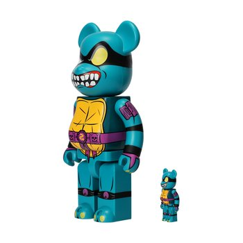 400%+100% BEARBRICK SLASH