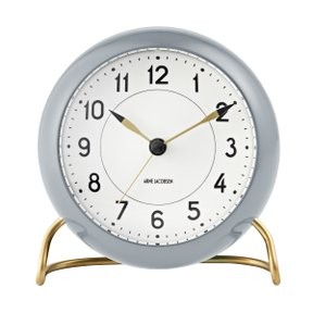 아르네야콥센 Table Clock Station Grey (43674)