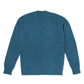 BOUCLE KNIT SWEATER 청록