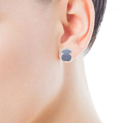 [최초출시가 123,000원]Silver Camille Earrings with Chalcedony/귀걸이/712163560