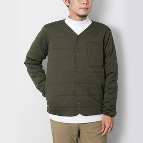 스노우피크 Flexible Insulated Cardigan Green