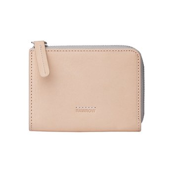 로우로우 ZIP WALLET 304 LEATHER NATURAL