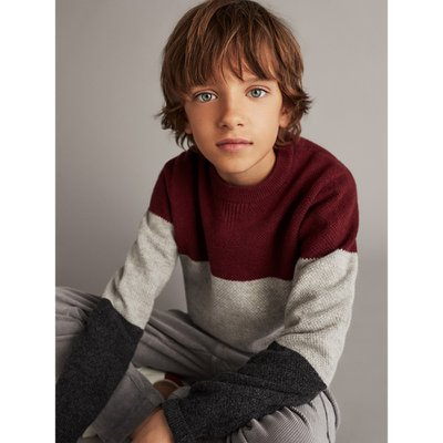 WOOL CASHMERE TRICOLOR SWEATER 00920692606