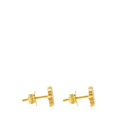 [최초출시가 241,000원]Gold and Mother-of-pearl XXS bear Earrings/귀걸이/812783030