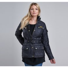 Barbour International 레이디 인터내셔널 폴라퀼트자켓 (Ladies International Polarquilt Jacket) LQU0030BK91