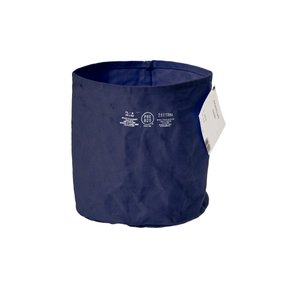 CANVAS POT COVER Large/Navy Blue
