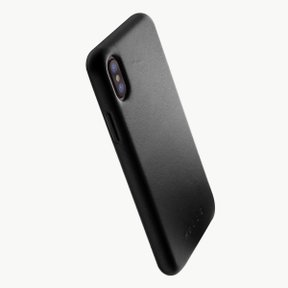 Leather Case for iPhoneX BLACK